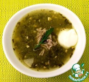 Рецепт Щавелевый суп с мясом