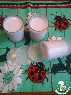 Как готовить Вишнёвый йогурт в йогуртнице вкусный рецепт приготовления с фотографиями