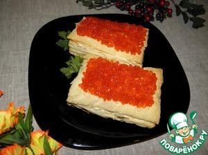 "Рецепт Рыбный торт""Барон"""