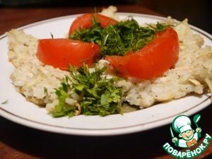 Рецепт Паровой пудинг с рисом и яблоками
