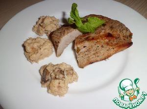 Рецепт Мясо с хлебным соусом