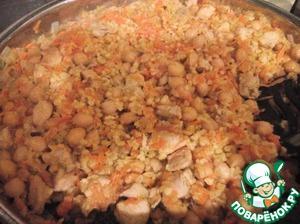Рецепт Булгур с нутом и курицей (или индейкой)