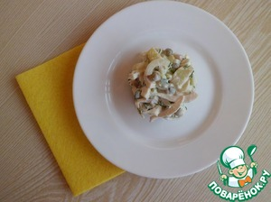 Салат с кальмарами вкусный рецепт с фотографиями как приготовить