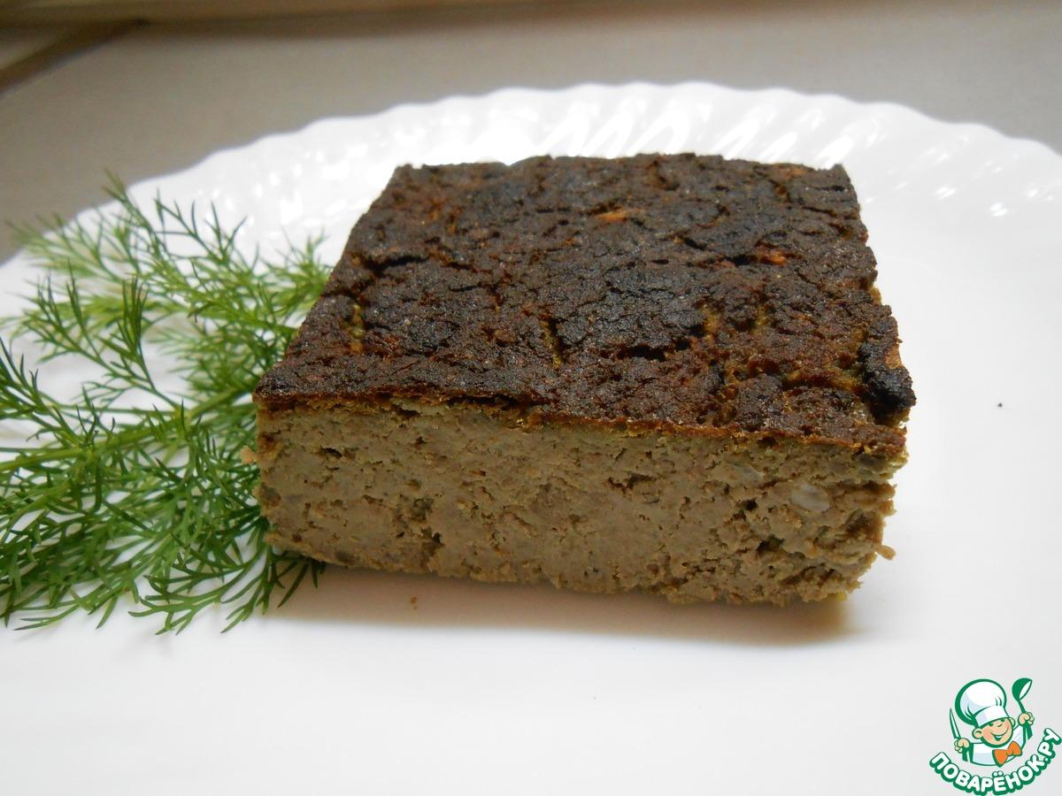Суфле из печени в духовке рецепт пошагово на russianfood
