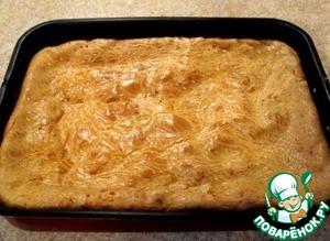 Рецепт Пирог с капустой и яйцами