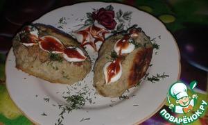 Рецепт Котлеты с сыром в картофельном тесте