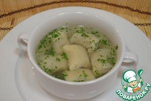 Рецепт Суп с «Ленивыми» пельменями