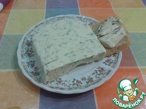 Рецепт Плавленый домашний сыр