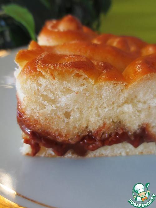 Пирог с шоколадной начинкой рецепты
