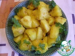 Рецепт Запеченный картофель по-польски