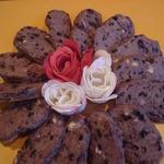 Черничное печенье из варенья