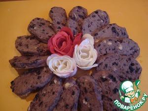Рецепт Черничное печенье из варенья