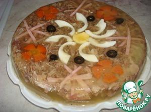 Рецепт Заливное мясо