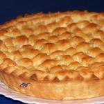 Итальянский торт Хлеб и яблоки