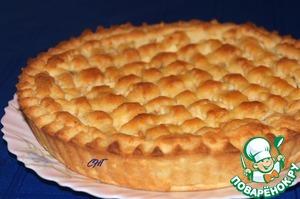 """Рецепт Итальянский торт """"Хлеб и яблоки"""""""