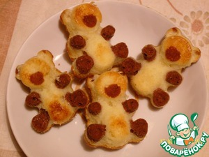 Рецепт Кексы «Мишки Барни»
