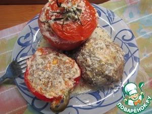 Рецепт Тефтели и фаршированные овощи