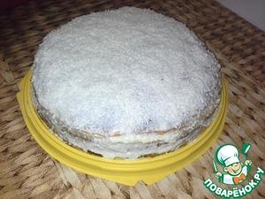 Рецепт Блинный торт с кремом из манной крупы
