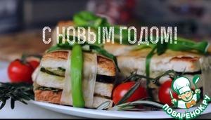 Рецепт Новогодний бутерброд с индейкой и клюквой
