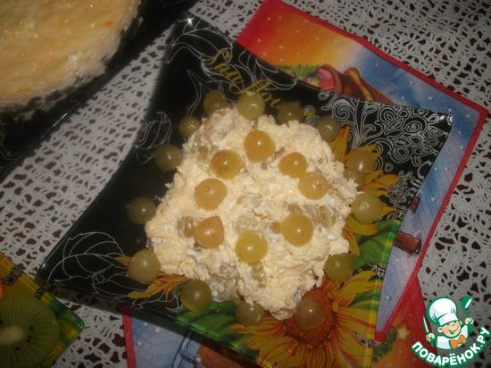 Рецепт салата кальмарами фото