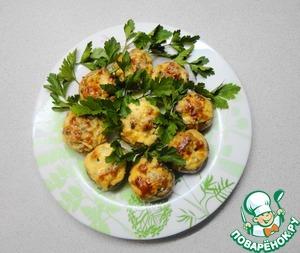 Рецепт Горячая закуска из шампиньонов