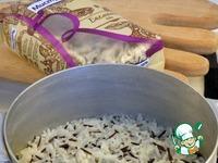 Салат с рисом и куриной печенью ингредиенты