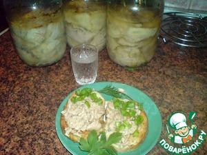 Рецепт Печень трески по домашнему