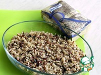 Рис с куриной печенью и яблоками ингредиенты