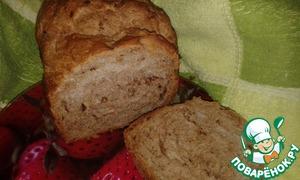 Рецепт Шоколадный хлеб с финиками и кунжутом
