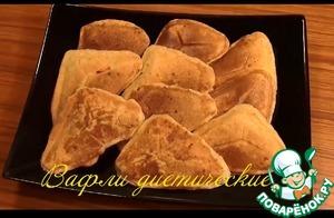 Вафли диетические по Дюкану простой рецепт с фотографиями пошагово