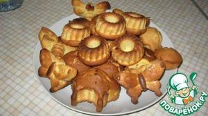 Творожные кексы простой рецепт с фото пошагово готовим