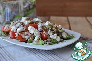 Рецепт Салат из смеси круп в итальянском стиле