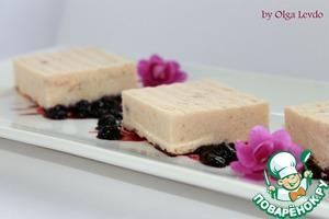 Рецепт Рисово-лососевый террин с черничным соусом