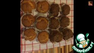 Рецепт Маффины с шоколадом и сгущенкой