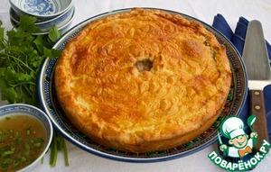 Как приготовить простой рецепт приготовления с фото Татарский мясной пирог