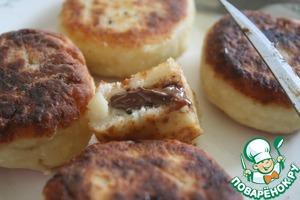 Рецепт Сырники с сюрпризом