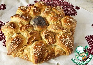 "Рецепт Хлеб ""Солнце"""