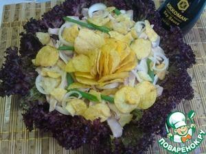 Рецепт Салат с кальмарами и соевым соусом