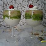 Десерт фруктово-творожный