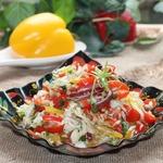 Салат из свежей капусты с семечками