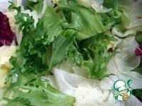Мясной салат с шампиньонами и овощами ингредиенты
