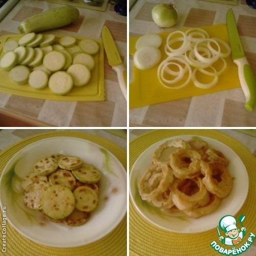 рецепт луковых колец в кляре с фото