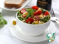 Салат с ветчиной, кукурузой и сыром ингредиенты