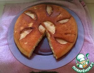 Рецепт Шарлотка с яблоками на сковороде