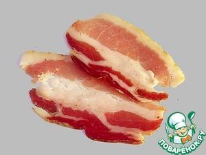 Рецепт Грудинка свиная вяленая