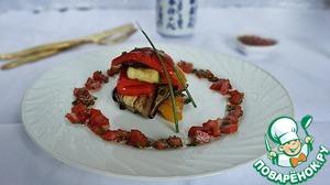 Рецепт Салат из овощей-гриль с сальсой из свежих томатов