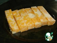 Хрустящие сырные палочки за 5 минут ингредиенты