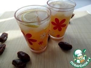 Рецепт Имбирно-финиковый лимонад