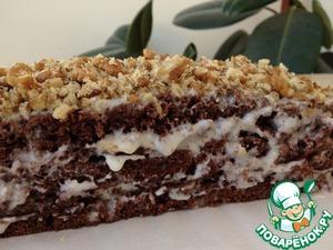 Рецепт Шоколадный торт на кефире, обалденный и сочный