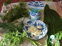 Грибы, маринованные со сметаной ингредиенты